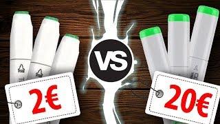 Sind billige Marker genauso gut wie Teuere?   Drawinglikeasir