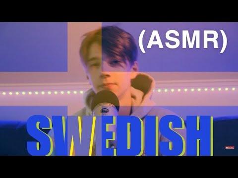 [ASMR] SWEDISH TALKING   First SWEDISH VIDEO EVER!😳🇸🇪