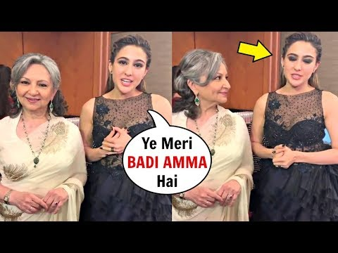 Sara Ali Khan EMOTIONAL Talking About Grandmother Sharmila Tagore At Vogue Awards 2019