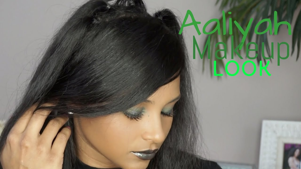 Aaliyah Makeup Tutorial | Are You That Somebody | lovekenziie - YouTube
