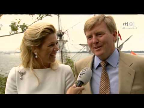 Interview Willem-Alexander en Maxima