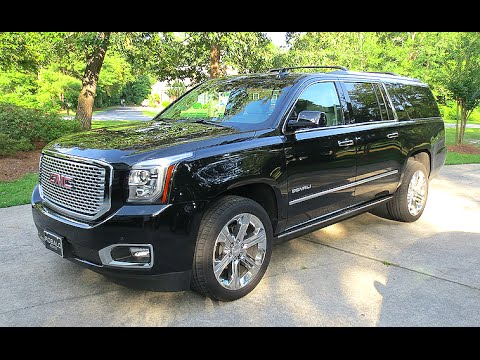 2016 gmc yukon xl denali full tour start up youtube. Black Bedroom Furniture Sets. Home Design Ideas