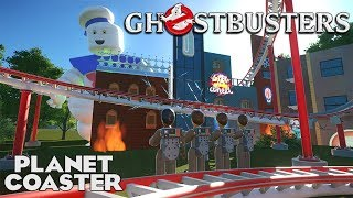 GHOSTBUSTERS! Movie Coaster! Builder Entry 01 #PlanetCoaster
