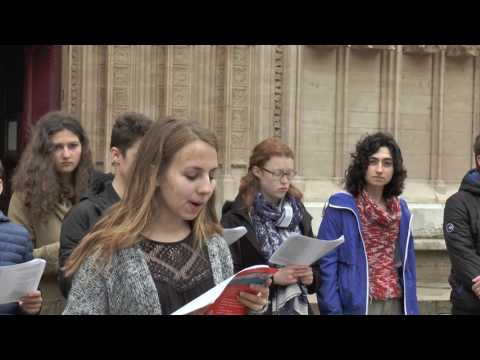 FULL Lyon Cathedrale Saint Jean Lycee Saint Just Chant XIII