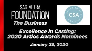 The Business: Excellence in Casting - 2020 Artios Awards Nominees