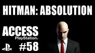 playStation Access TV 58 - Hitman: Absolution! CM Punk! F1 Race Stars!