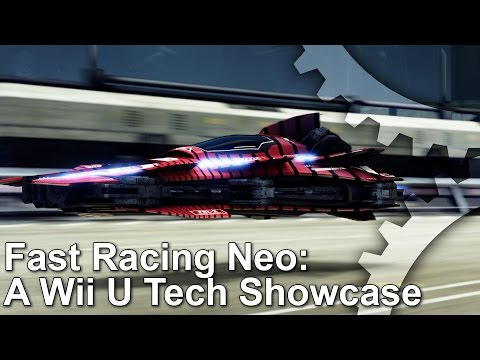 Fast Racing Neo Wii U Tech Analysis/Frame-Rate Test