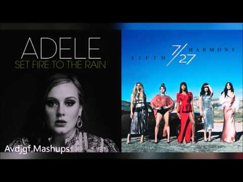 Adele vs. Fifth Harmony - Set Fire To The Work (Mashup)