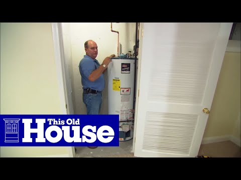How to Replace a Direct-Vent Water Heater - This Old House - YouTube