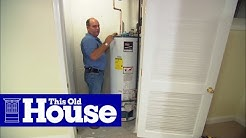 How to Replace a Direct-Vent Water Heater | This Old House