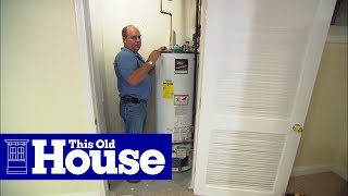 How to Replace a Direct-Vent Water Heater - This Old House