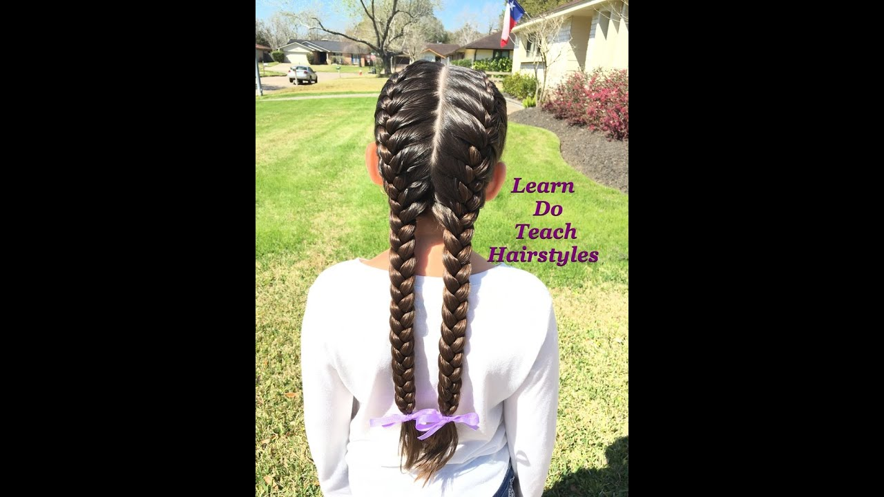 French Braids From Start To Finish