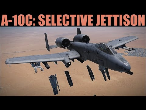 A-10C Warthog: Selective Jettison Tutorial | DCS WORLD