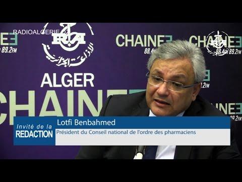 Lotfi Benbahmed président du Conseil national de l'ordre des pharmaciens
