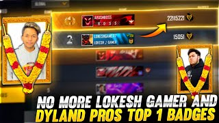 No more LOKESH GAMER & DYLAND PROS ❌😤 Buying 10000 BADGES Global - Garena free fire