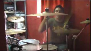 Bullet for my valentine Hand of blood drum COVER