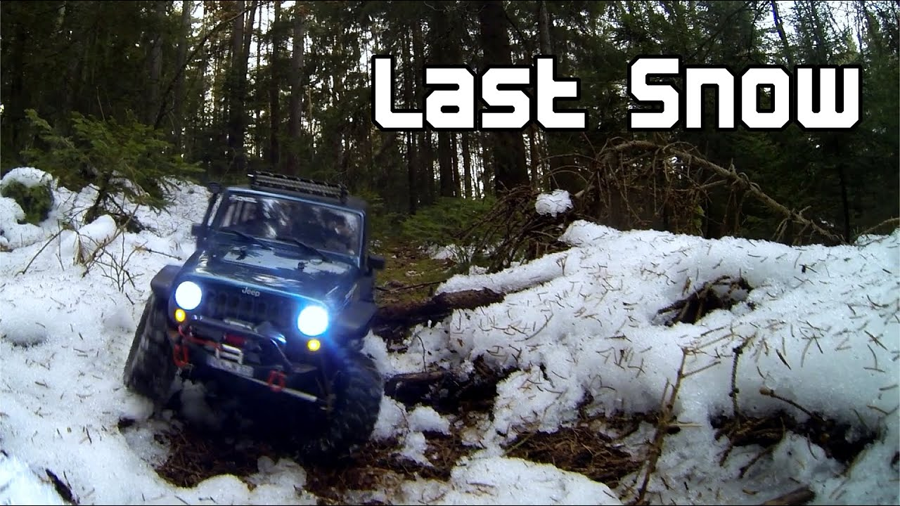 RC-Films: Axial SCX10 Jeep Wrangler Unlimited - Last Snow