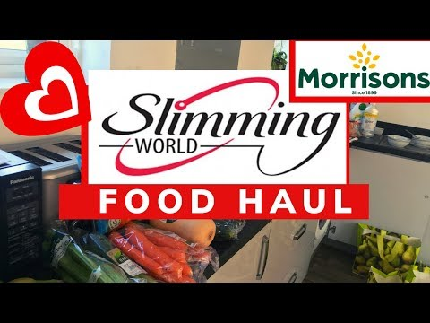🍉🍏🍌SLIMMING WORLD Friendly MORRISONS Food Shop   Healthy Eating