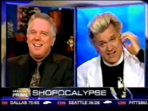 Glenn Beck misses the Point of Reverend Billy and the Church of Stop Shopping (December 3, 2008)