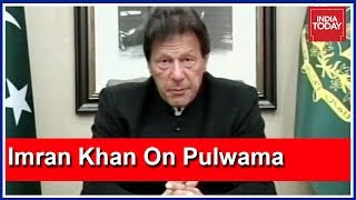Pak PM Imran Khan's First Reaction To Pulwama Attack: