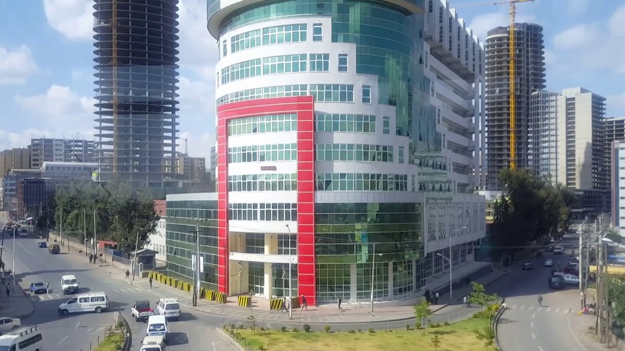 Financial area of Addis, National stadium, tallest building in Addis