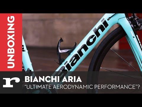 "Unboxing the Bianchi Aria - ""Ultimate Aerodynamic Performance""?"