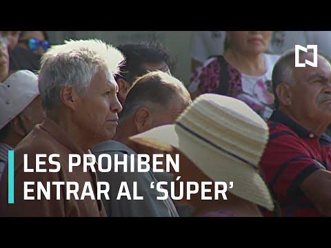 En Jalisco prohíben a adultos mayores entrar a supermercados, por COVID-19 - Despierta