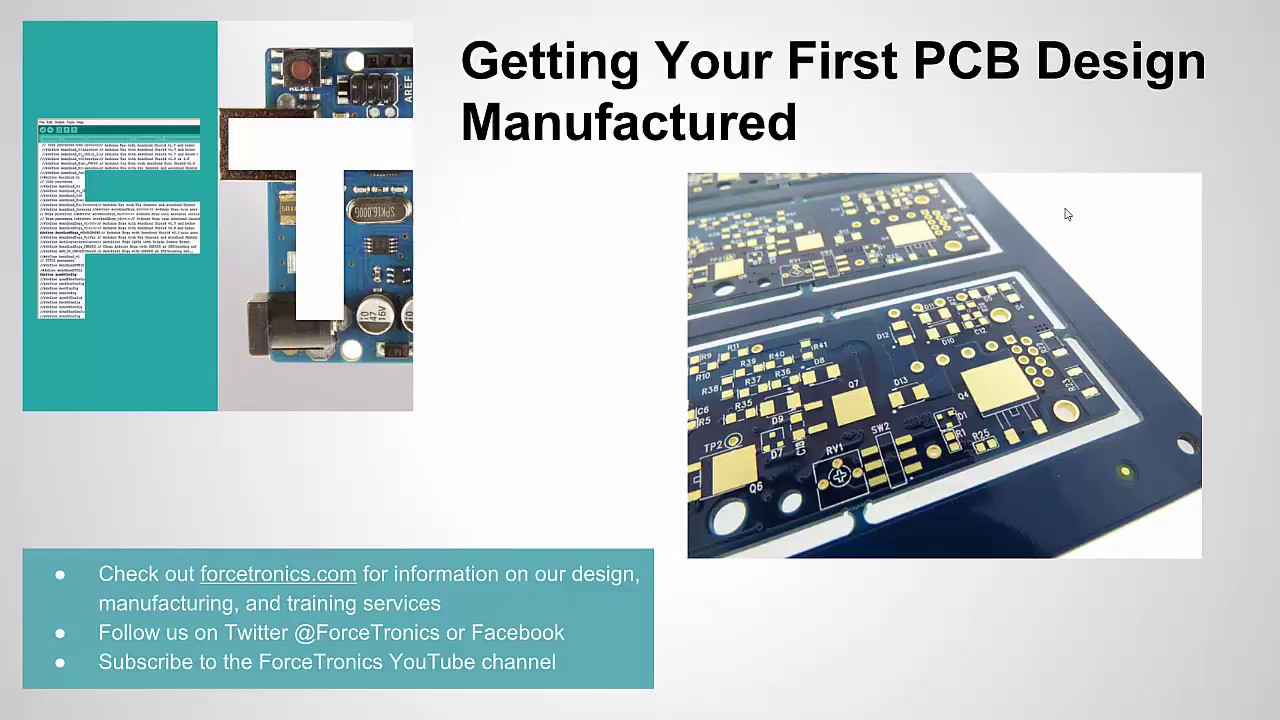 Getting Your First Pcb Design Manufactured Youtube Best Free Software39s Printed Circuit Board Software