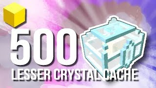 Trove - Opening 500 Lesser Crystal Cache & 5 Greater Crystal Cache!