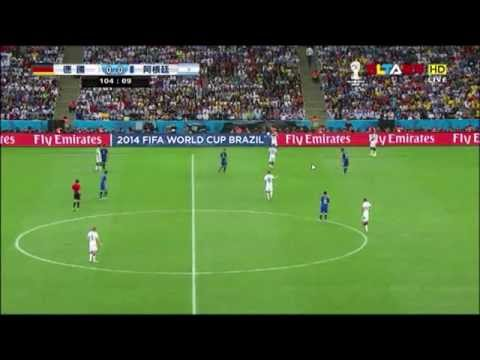 [HD] World Cup 2014 Germany vs Argentina Full Match (extra time)