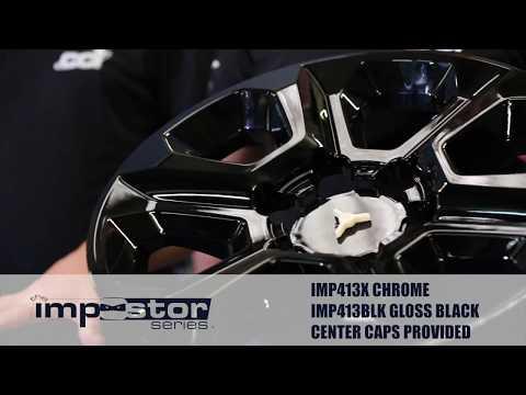 Installation of the IMP413BLK - Wheel Skin for the Toyota 4Runner