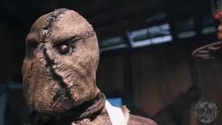Burlap Horror Scarecrow-Spirit Halloween