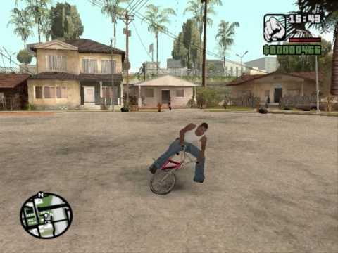 jogando um jogo maneiro - GTA SAN ANDREAS!!!