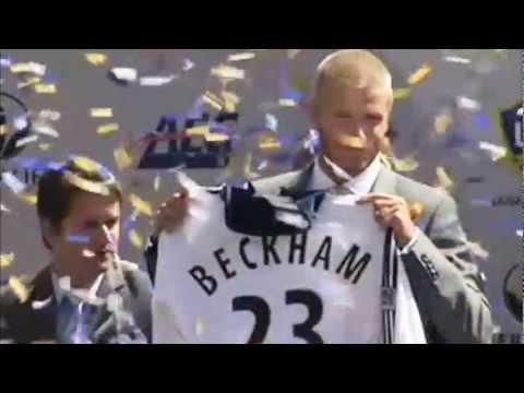 All David Beckham's Goals for LA Galaxy