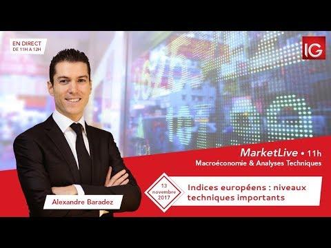 #MarketLive 11h - Lundi 13 novembre 2017