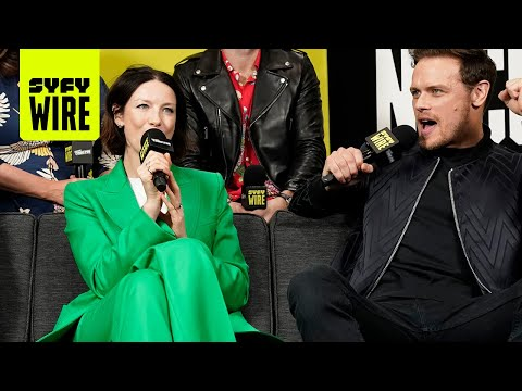 Outlander Travels In Time To Season 5 | NYCC 2019 | SYFY WIRE