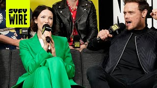 Outlander Travels In Time To Season 5   NYCC 2019   SYFY WIRE