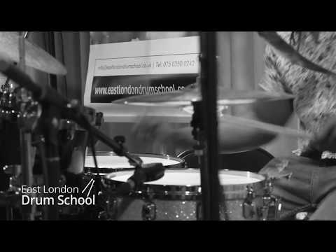 Dexter Hercules Performing At East London Drum School (drum Solo)
