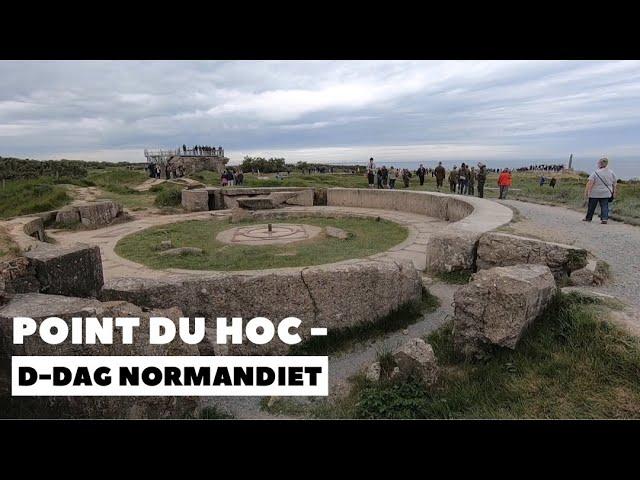 Point du Hoc, D-dag, Normandiet