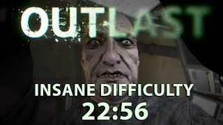 Outlast Speedrun 22:56 on Insane (PS4) (World Record)