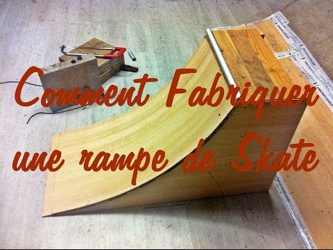 comment fabriquer une rampe de skate quarterpipe tuto youtube. Black Bedroom Furniture Sets. Home Design Ideas