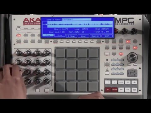 In the Studio with GURU Jay-Z Producer Sampling With MPC Renaissance