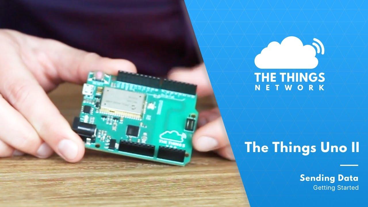Mobilefish com - Send DHT11 sensor data using the Things Uno