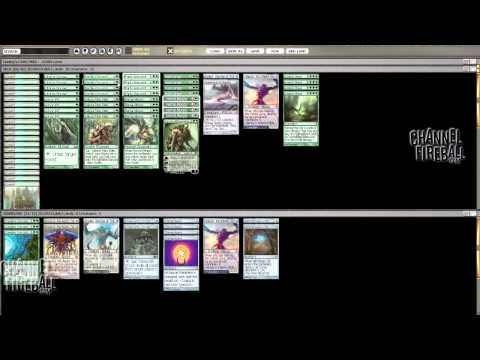 Channel Conley -  Rogue's Gallery: Modern Mono-Green (Deck Tech)