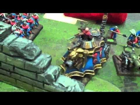 Empire vs Orcs and Ogres Mega Battle 02 Warhammer Fantasy Battle Report