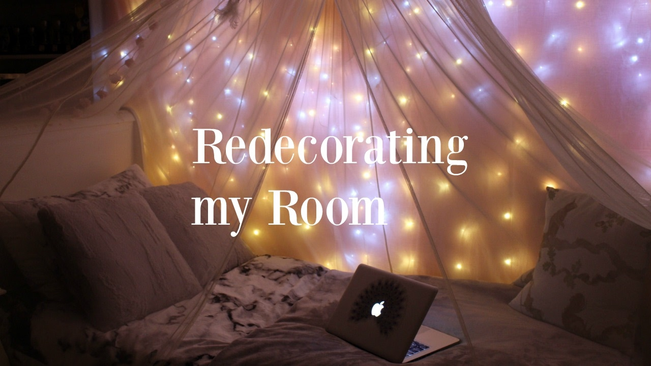 REDECORATING MY ROOM!