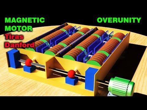 FREE ENERGY, Tiras Danford MAGNETIC MOTOR, Overunity Generator