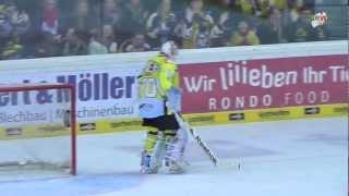 Eishockey: Tomáš Duba Penaltysave gegen Alexander Oblinger
