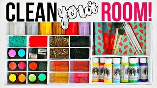 CLEAN YOUR ROOM!  | DRAWERS EDITION - 7 New DIY Organizations + Tips & Hacks