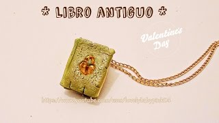 Tutorial Libro Antiguo porcelana fria - Antique Book Cold Porcelain(Mini Libro Tutorial TÉCNICA FÁCIL :), 2015-02-11T15:49:05.000Z)